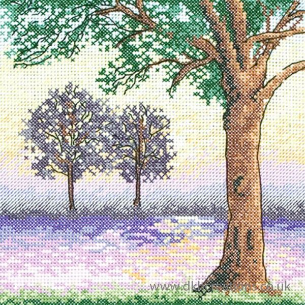 River View Cross Stitch Kit